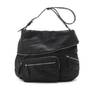 Zip-detail Cross Bag Black - One Size