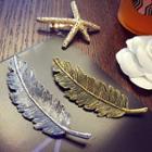 Metal Feather Hair Clip