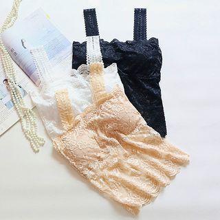 Set Of 2: Lace Padded Camisole