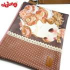 Ddung Series Wristlet Clutch Brown - One Size