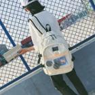 Transparent Pocket Canvas Backpack