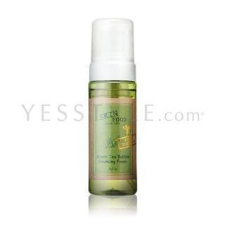 Skinfood - Green Tea Bubble Cleansing Foam 160ml