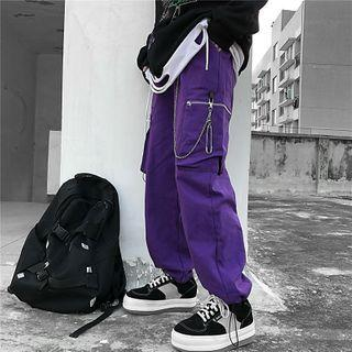 Cargo Jogger Pants / Pant Chain / Set