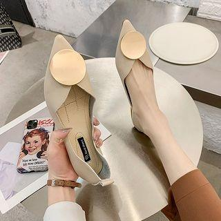 Pointed Metal Accent Flats