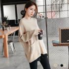 Dropped-sleeve Sweater