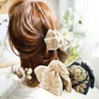 Embroidered Fabric Hair Clamp