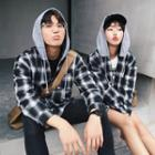 Couple Matching Long-sleeve Plaid Shirt