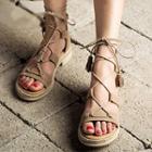 Tasseled Genuine Leather Sandals