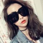 Oversize Square Frame Sunglasses