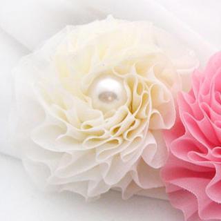 Flower Hair Tie / Hair Pin / Brooch