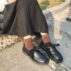 Round-toe Oxford Shoes