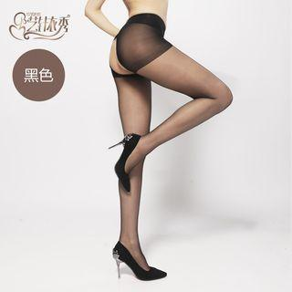 Cut Out Tights Set