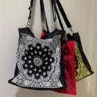 Paisley Shopper Bag With Strap