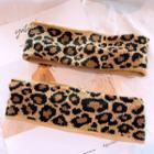 Leopard Print Headband Leopard - As Shown In Figure - One Size