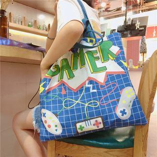 Printed Canvas Tote Bag (various Designs)
