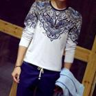 Patterned Long-sleeve T-shirt