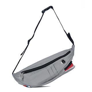 Shark Waist Bag Gray - One Size