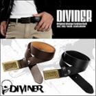 Genuine-leather Belt