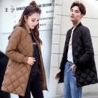 Couple Matching Quilted Padded Coat