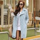 Double-breasted Denim Coat