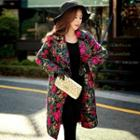 Floral Buttoned Coat
