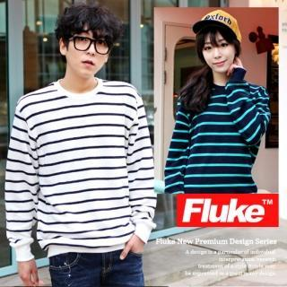 Crew-neck Stripe T-shirt