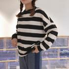 Striped Sweatshirt Stripe - One Size