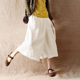Tie-waist A-line Skirt