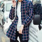 Matching Couple Plaid Long Shirt