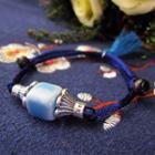 Ceramic Cube String Bracelet
