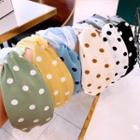 Polka Dot Criss Cross Headband
