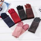Floral Touchscreen Gloves