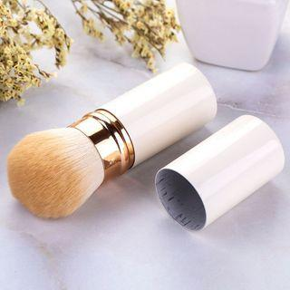 Retractable Makeup Brush White - One Size