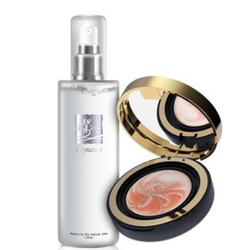 Heynature - Ersungcho Skin Toner Special Set: Marble Essence Pact Spf 50+ Pa+++ (#23 Orange) 11g + Ersungcho Skin Toner 120ml 2 Pcs