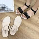 Plain Flats Sandals