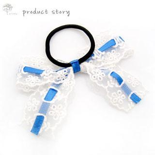Ribbon Lace Hair B& - Blue