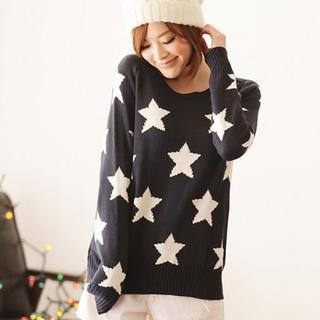 Star-pattern Sweater