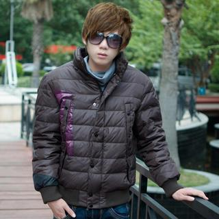 Color-block Padded Jacket