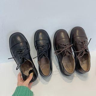 Fleece Lined Oxford Shoes