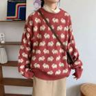Sheep Jacquard Sweater