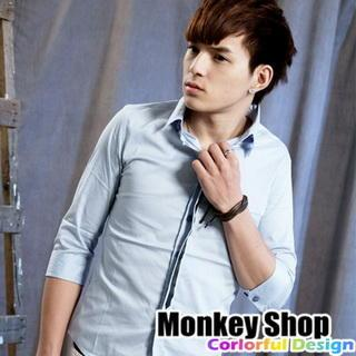 Elbow-sleeve Shirt