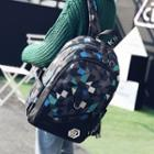 Couple Matching Patterned Backpack