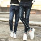 Couple Matching Washed Jeans