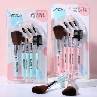 Set Of 8: Makeup Brush L0966 - Random Color - One Size