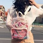 Lightweight Backpack With Drawstring Bag