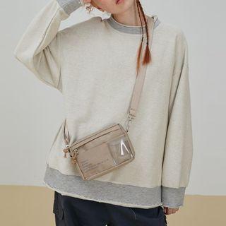 Couple Matching Fray-hem Sweatshirt
