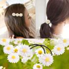 Floral Hair Tie / Hair Clip