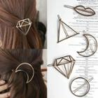 Metal-accent Hair Clip