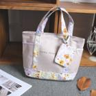 Canvas Tote Other - Floral Belt Purse Tote