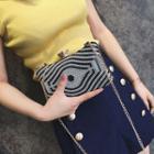 Embellished Clipframe Shoulder Bag